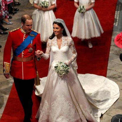 Katalin hercegné és Vilmos herceg visszatértek az esküvőjük helyszínére – idén ünneplik a 10. házassági évfordulójukat