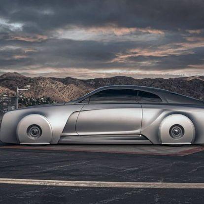 Justin Bieber futurisztikus Rolls-Royce kísértete