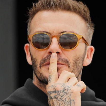 David Beckham véletlenül elárulta a telefonszámát