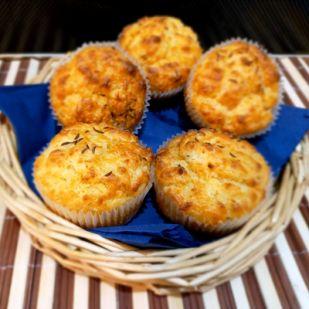 Dupla sajtos muffin