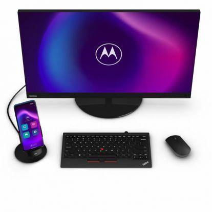 A Motorola Moto G100 még asztali számítógép helyett is használható