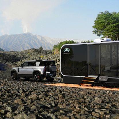 Vadregényes olasz tájakon lehet aludni a Land Rover jóvoltából
