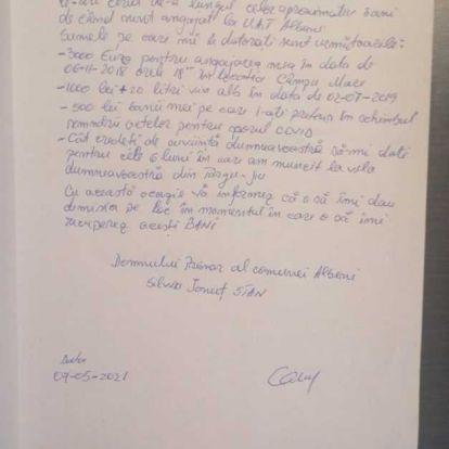 A mező közepén fizetett 3000 euró kenőpénzt egy román férfi, most visszakéri azt