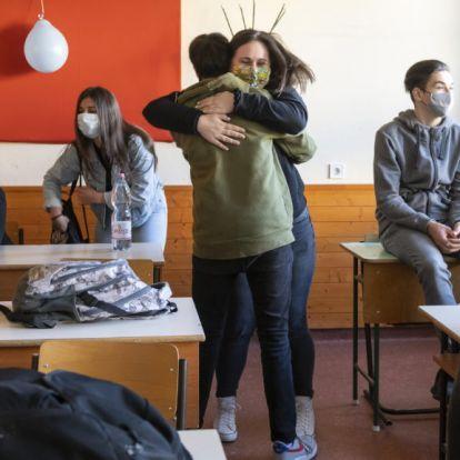 Kásler: Az érintett diákok 90 százaléka tért vissza az iskolákba