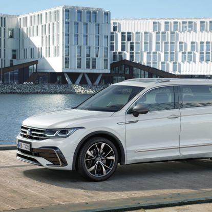 Most már megmutathatjuk: íme az új VW Tiguan Allspace