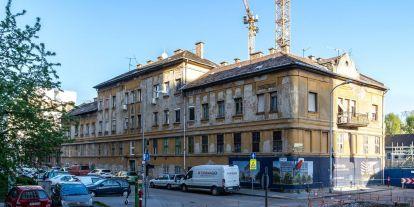 Hamarosan lebontják Psota Irén józsefvárosi szülőházát
