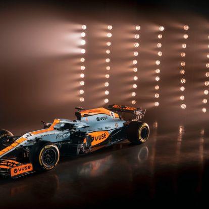 A McLaren lecseréli a festését, de még milyenre
