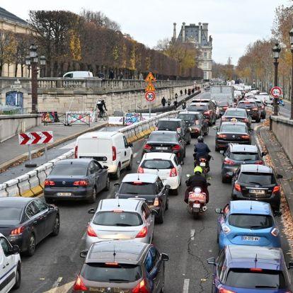 Párizs kitiltja belvárosából a gépjárműveket!
