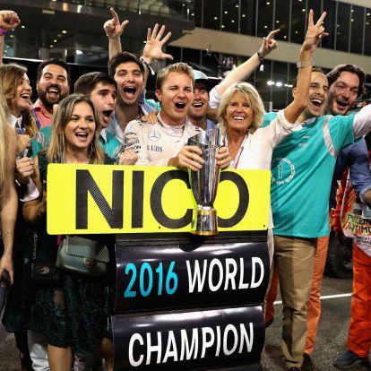 F1: Rosberg elárult egy titkot a visszavonulásáról