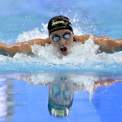 Hosszú Katinka aranyérmet nyert 400 méter vegyesen a budapesti vizes Eb-n