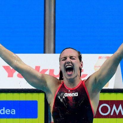 Hosszú arany-, Mihályvári-Farkas ezüstérmes női 400 méter vegyesen