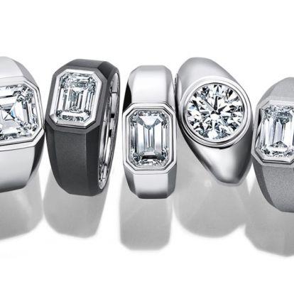 Férfiaknak tervezett eljegyzési gyűrűt a Tiffany Co