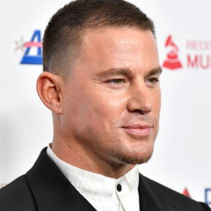 Channing Tatum meztelenül jelentette be új filmjét