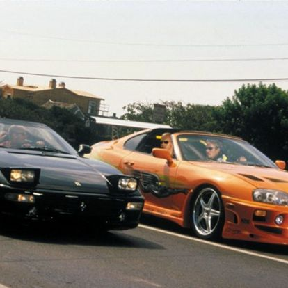 Elárverezik Paul Walker legendás Toyota Supráját