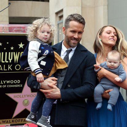 Nagyot nőttek Blake Lively és Ryan Reynolds lányai