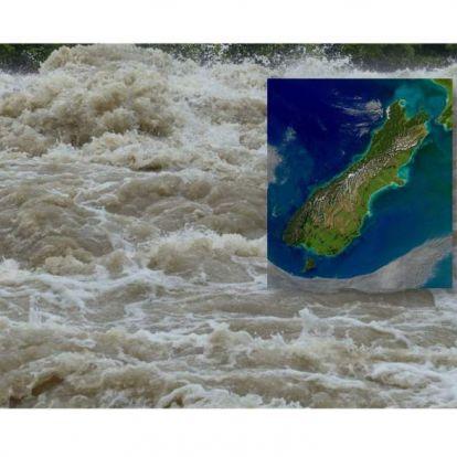 Több száz családot telepítettek ki az árvizek miatt Új-Zélandon