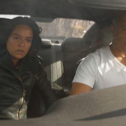 A Halálos iramban 9. részében Vin Diesel szó szerint Pókembert csinál egy autóból