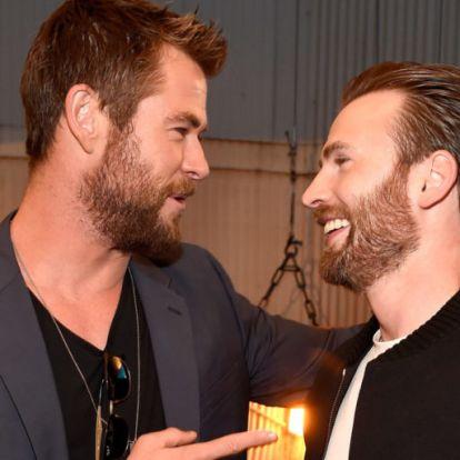 Chris Evanst zseniálisan megtrollkodta a szülinapján Chris Hemsworth
