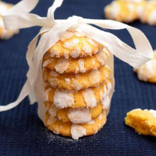 Lemon Crinkle cookies avagy a citromos pöfeteg keksz
