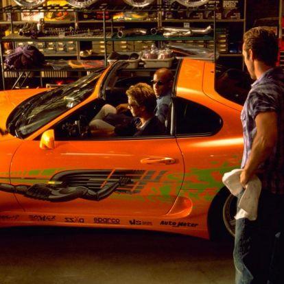 Nagy összegért elárverezték Paul Walker Toyota Supráját