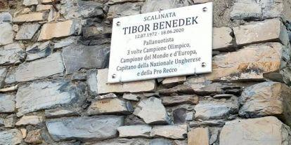 Benedek Tiborról előbb neveztek el közterületet Olaszországban, mint itthon