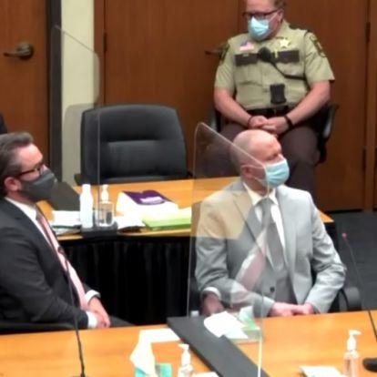 George Floyd-ügy - huszonkét és fél évi börtönre ítélte a bíróság Derek Chauvint