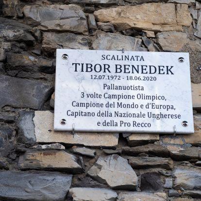 Sétányt neveztek el Benedek Tiborról Olaszországban