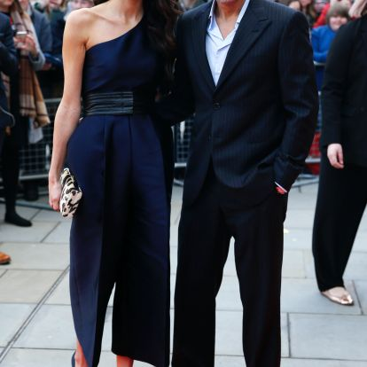 Amal Clooney's Slip Dress Paid Tribute To The Fourth Of July
