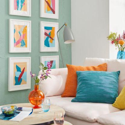 DIY - Így készíthetsz házilag színes és kreatív faliképet!