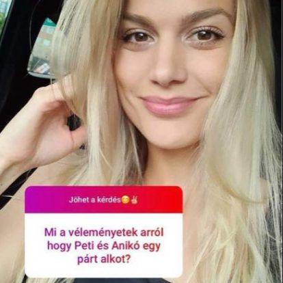 Weisz Fanni elmondta, mit gondol a férje, Hajmásy Péter és Nádai Anikó kapcsolatáról