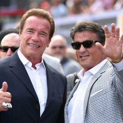 Sylvester Stallone és Arnold Schwarzenegger egy év után először találkoztak