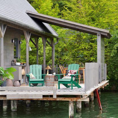 Álomnyaraló: Víkendház a tó felett. Gyere velünk Bokodra!
