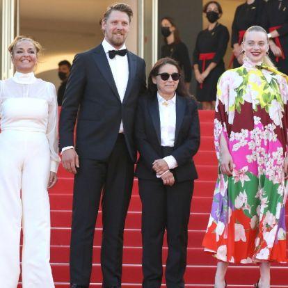 Cannes: Enyedi Ildikó filmjét állva tapsolták meg, a rendező a könnyeivel küszködött a díszbemutatón
