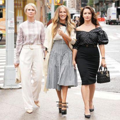 Sex and The City Reboot: Τα πρώτα luxury looks των πρωταγωνιστριών αποκαλύφθηκαν κι εμείς δηλώνουμε ενθουσιασμένες