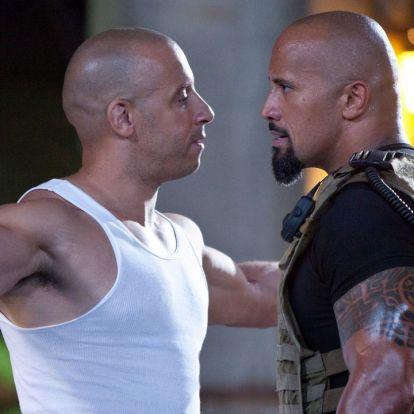 Dwayne Johnson kiröhögte Vin Dieselt, és elmondta, nem vesz részt a Halálos iramban 10 11-ben