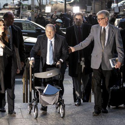 Harvey Weinstein is izraeli magánkémekkel figyeltette az utána nyomozó újságírókat
