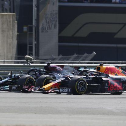 F1: Verstappen és Hamilton újra ütközhetnek