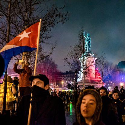 Kuba azt állítja, Molotov-koktéllal támadták meg a párizsi nagykövetségük épületét