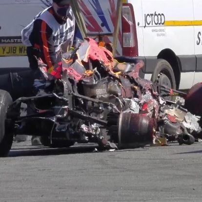 F1: Nem hagyja magát a Red Bull, újratárgyalnák a nagy balesetet