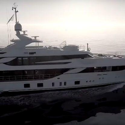 Videóval: Még az előzőnél is nagyobb és drágább hajót vett a Szijjártót jachtoztató Szíjj László