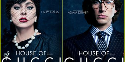 'House of Gucci' Debuts Character Posters Featuring Lady Gaga, Adam Driver & More