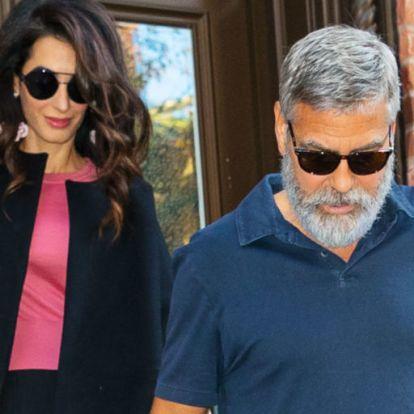 George Clooney újra apa lesz