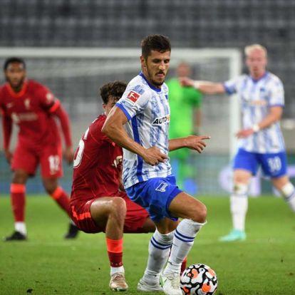 Dárdai új csatára sorra fektette el a Liverpool védőit, majd gólt rúgott