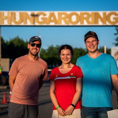 F1: Lánykérés a Hungaroringen, Vettel volt a tanú