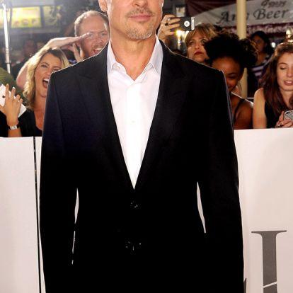 Ikertornyok: íme, Brad Pitt hasonmása, aki szinte a klónja a hollywoodi szívtiprónak