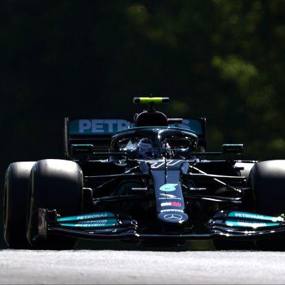 F1: Bottas a leggyorsabb a mogyoródi forróságban