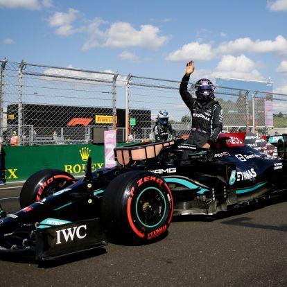 F1: Hamiltont kifütyülte a magyar közönség