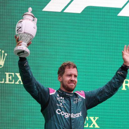 F1: Kizárták a második helyről Vettelt