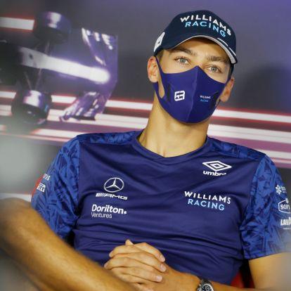 F1: Russellt máris beültetik a Mercedesbe