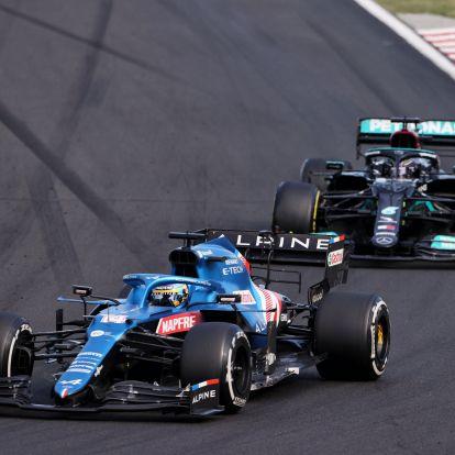 F1: A győzelem lebegett Alonso szeme előtt